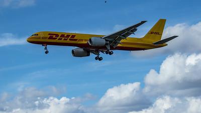 DHL - Boeing 757-236(SF) (G-DHKG) - Heathrow Airport (June 2020)