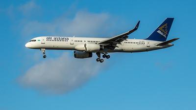 Air Astana - Boeing 757-2G5 (P4-GAS) - Heathrow Airport (March 2020)