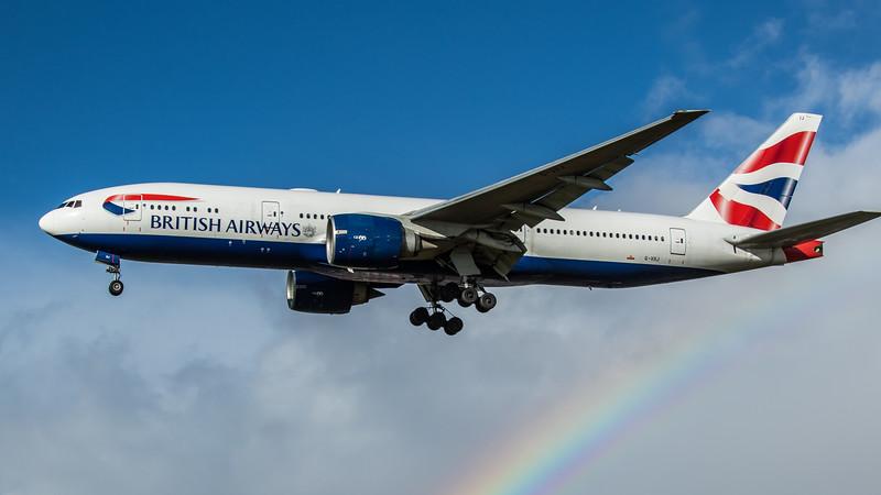 British Airways - Boeing 777-236(ER) (G-VIIJ) - Heathrow Airport (February 2020)