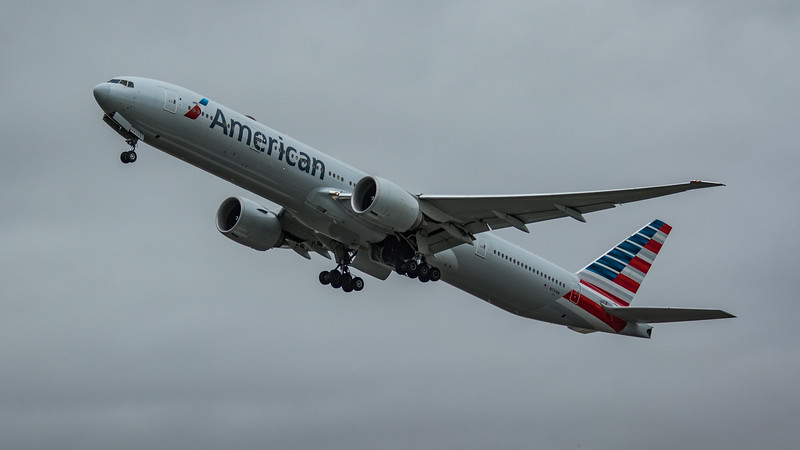 American Airlines - Boeing 777-323(ER) (N731AN) - Heathrow Airport (March 2020)