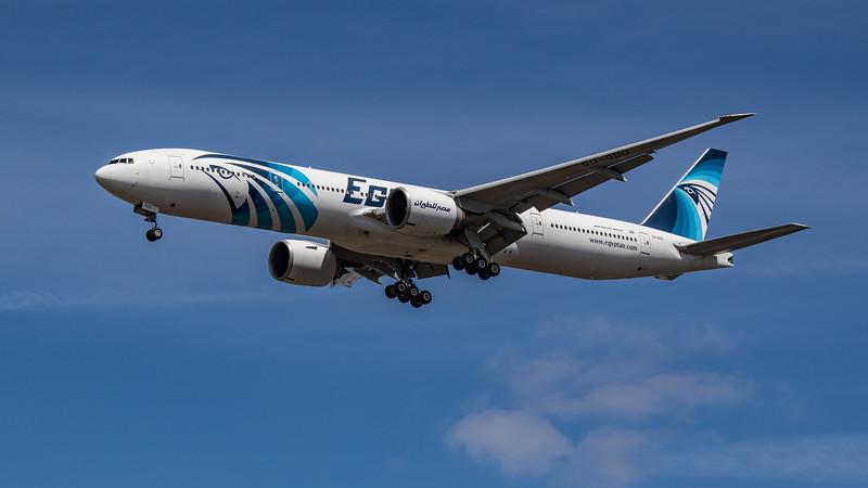 EgyptAir - Boeing 777-36N(ER) (SU-GDO) - Heathrow Airport (July 2020)