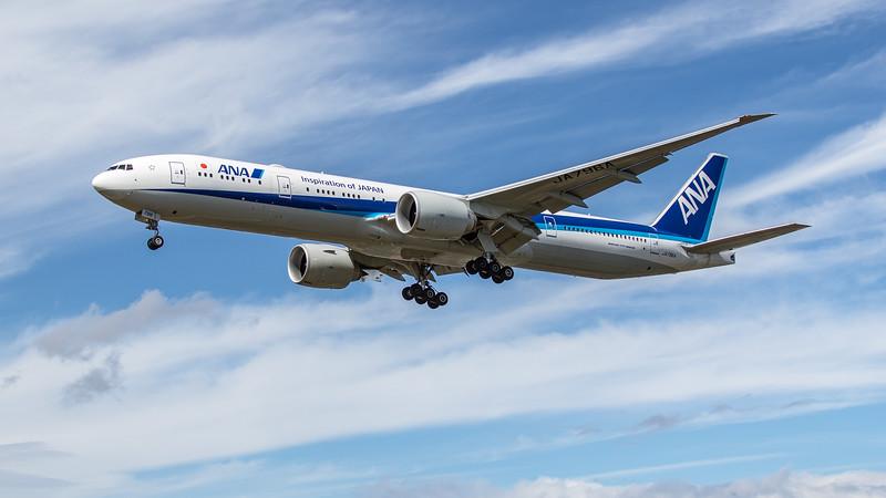 All Nippon Airways - Boeing 777-300(ER) (JA796A) - Heathrow Airport (June 2020)