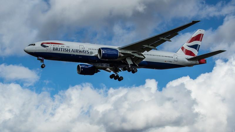 British Airways - Boeing 777-236(ER) (G-YMMH) - Heathrow Airport (February 2020)