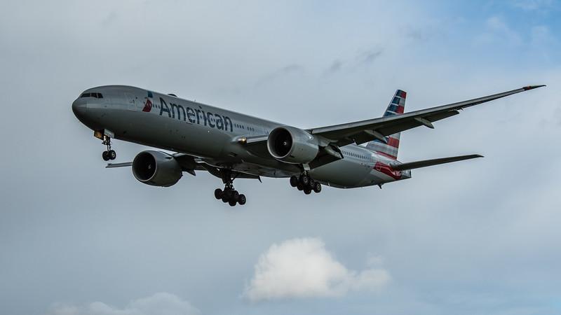 American Airlines - Boeing 777-323(ER) (N717AN) - Heathrow Airport (February 2020)