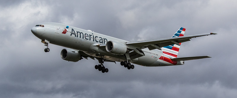 American Airlines - Boeing 777-223(ER) (N774AN) - Heathrow Airport (March 2019)