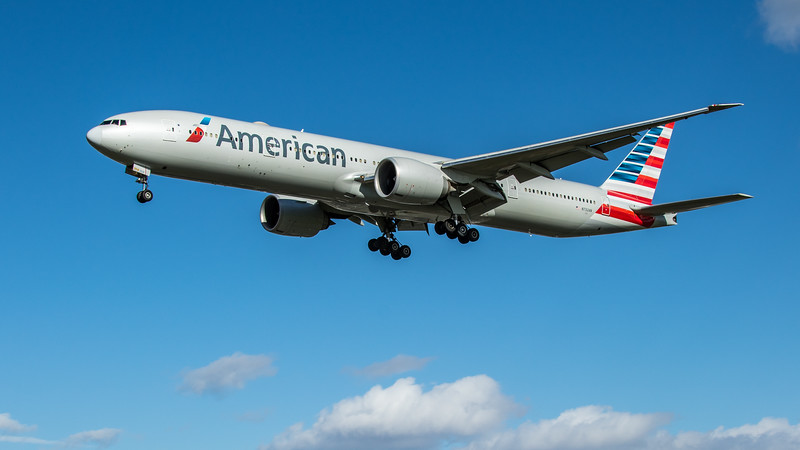 American Airlines - Boeing 777-323(ER) (N732AN) - Heathrow Airport (March 2020)