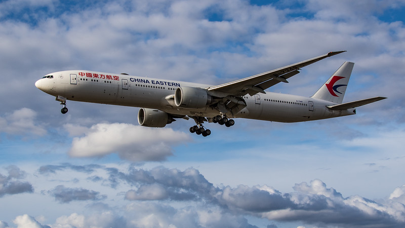 China Eastern Airlines - Boeing 777-39P(ER) (B-7349) - Heathrow Airport (August 2020)