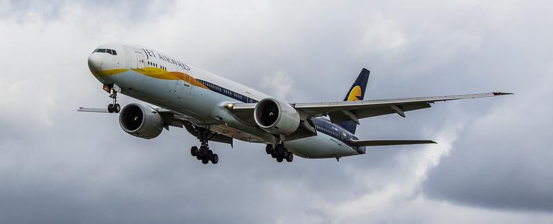 Jet Airways - Boeing 777-35R(ER)  (VT-JEM) - Heathrow Airport (March 2019)