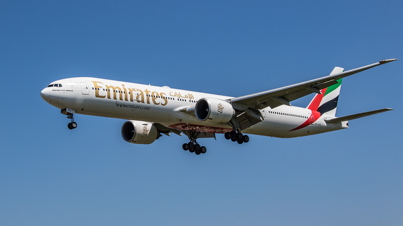 Emirates - Boeing 777-31H(ER) (A6-EPV) - Heathrow Airport (June 2021)