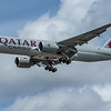 Qatar Cargo - Boeing 777-FDZ (A7-BFL) - Heathrow Airport (June 2020)