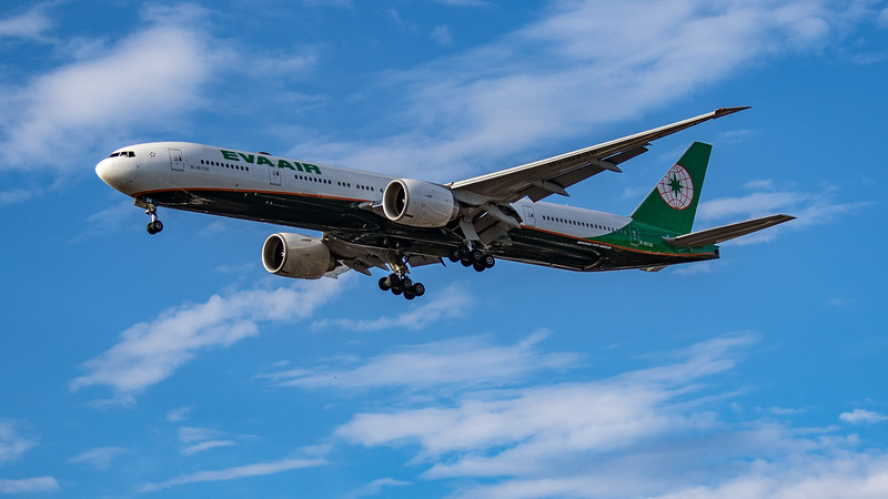 EVA Air - Boeing 777-36N(ER) (B-16736) - Heathrow Airport (July 2020)