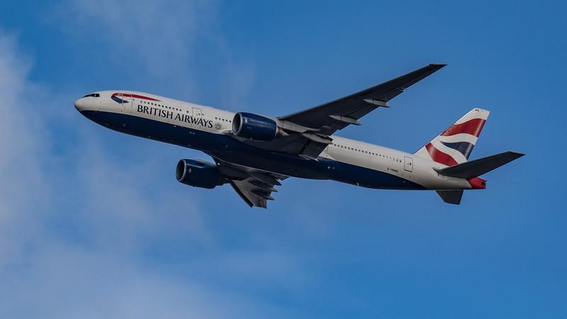 British Airways - Boeing 777-236(ER) (G-YMMS) - Heathrow Airport (March 2020)