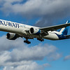 Kuwait Airways - Boeing 777-369(ER) (9K-AOL) - Heathrow Airport (March 2020)