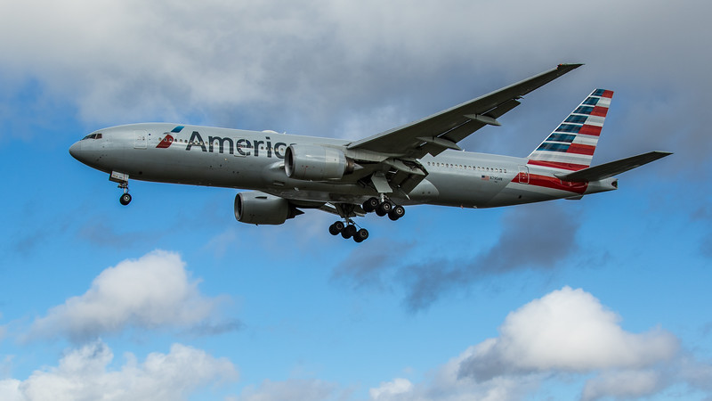 American Airlines - Boeing 777-223(ER) (N795AN) - Heathrow Airport (February 2020)