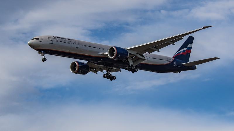 Aeroflot - Boeing 777-3M0(ER) (VP-BGC) - Heathrow Airport (July 2020)