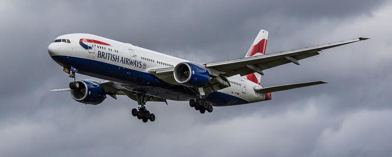 British Airways - Boeing 777-236(ER) (G-YMMP) - Heathrow Airport (March 2019)
