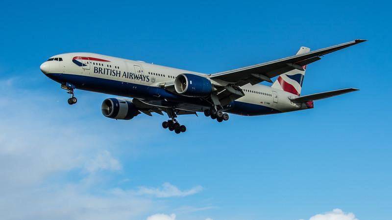 British Airways - Boeing 777-236(ER) (G-YMMI) - Heathrow Airport (February 2020)