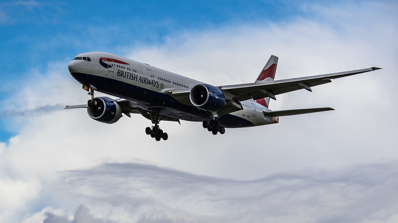 British Airways - Boeing 777-236(ER) (G-VIIE) - Heathrow Airport (March 2019)