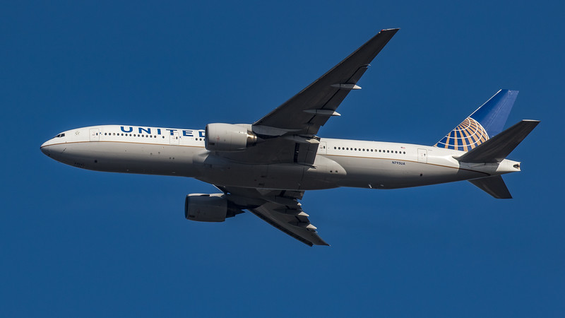 United Airlines - Boeing 777-222(ER) (N795UA) - Heathrow Airport (March 2020)