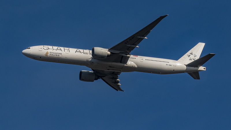 Singapore Airlines (Star Alliance Livery)  - Boeing 777-312(ER) (9V-SWI) - Heathrow Airport (March 2020)