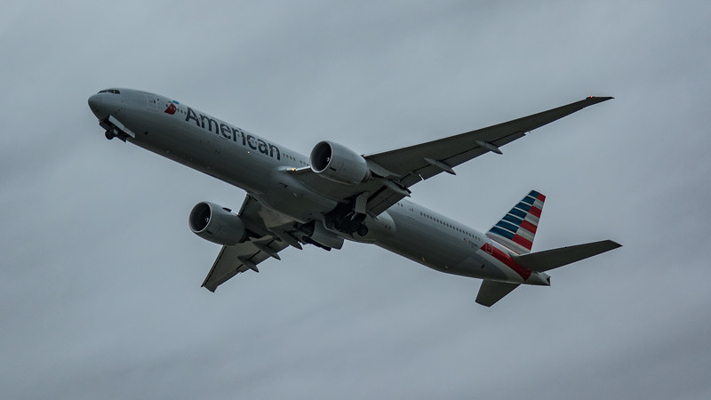 American Airlines - Boeing 777-323(ER) (N730AN) - Heathrow Airport (March 2020)