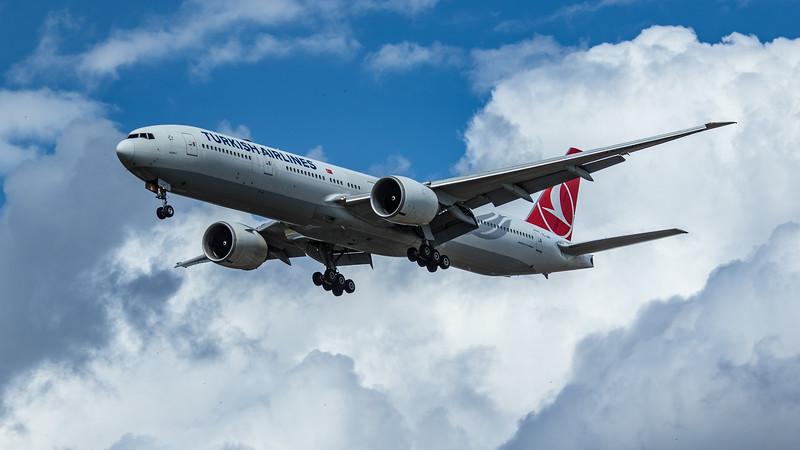 Turkish Airlines - Boeing 777-3F2(ER) (TC-JJH) - Heathrow Airport (June 2020)