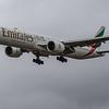 Emirates - Boeing 777-31H(ER) (A6-EQI) - Heathrow Airport (June 2020)