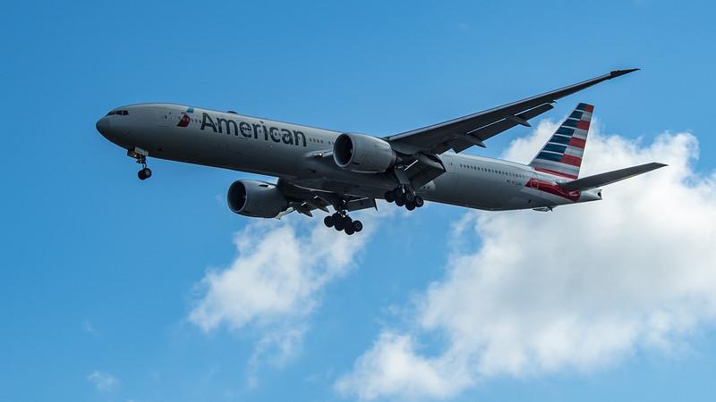 American Airlines - Boeing 777-323(ER) (N722AN) - Heathrow Airport (June 2020)