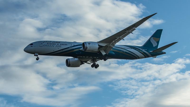 Oman Air - Boeing 787-9 Dreamliner (A4O-SF) - Heathrow Airport (June 2020)