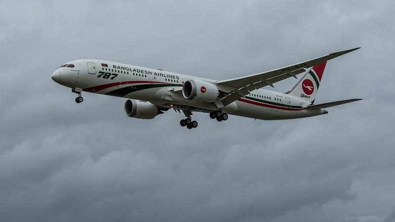 Biman Bangladesh Airlines - Boeing 787-9 Dreamliner (S2-AJX) - Heathrow Airport (March 2020)