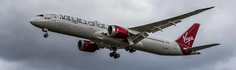 Virgin Atlantic - Boeing 787-9 Dreamliner (G-VWHO) - Heathrow Airport (March 2019)