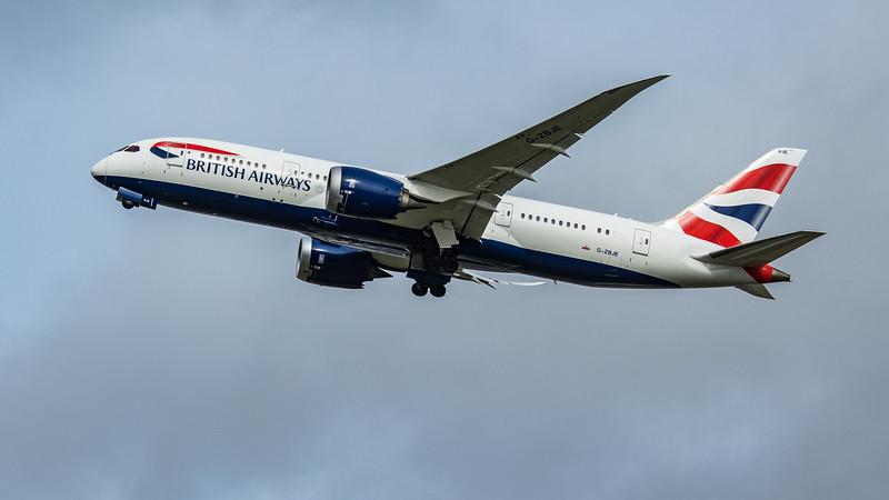 British Airways - Boeing 787-8 Dreamliner (G-ZBJE) - Heathrow Airport (March 2020)