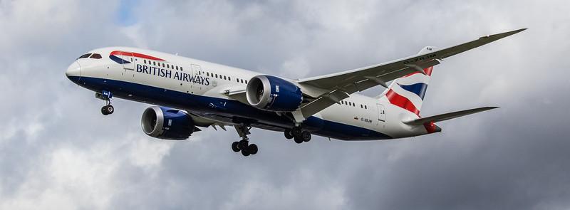 British Airways - Boeing 787-8 Dreamliner (G-ZBJM) - Heathrow Airport (March 2019)