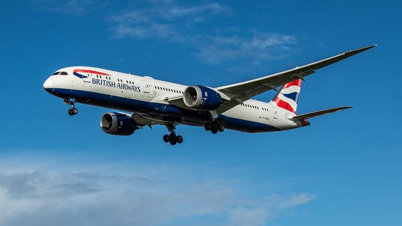 British Airways - Boeing 787-9 Dreamliner (G-ZBKA) - Heathrow Airport (February 2020)