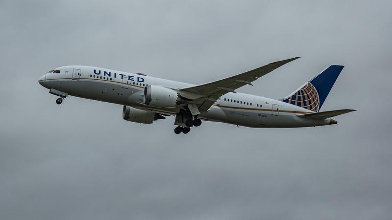 United Airlines - Boeing 787-8 Dreamliner (N30913) - Heathrow Airport (March 2020)