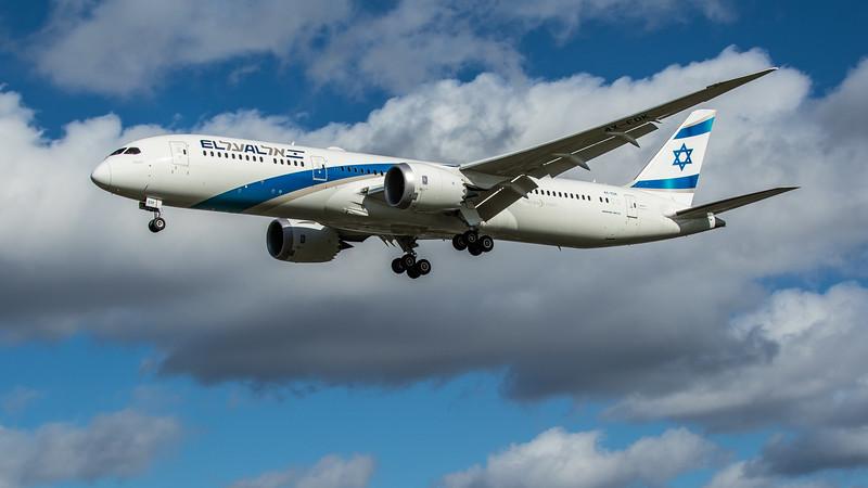 El Al Isreal Airlines - Boeing 787-9 Dreamliner (4X-EDK) - Heathrow Airport (March 2020)