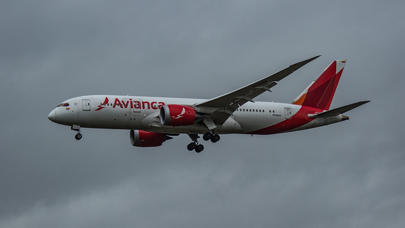 Avianca - Boeing 787-8 Dreamliner (N786AV) - Heathrow Airport (March 2020)