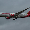 Avianca - Boeing 787-8 Dreamliner (N786AV) - Heathrow Airport (March 2020)