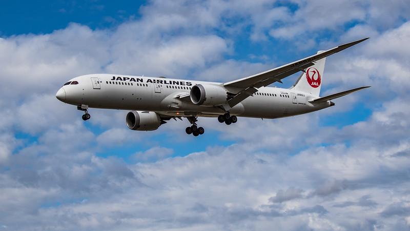 Japan Airlines - Boeing 787-9 Dreamliner (JA862J) - Heathrow Airport (August 2020)