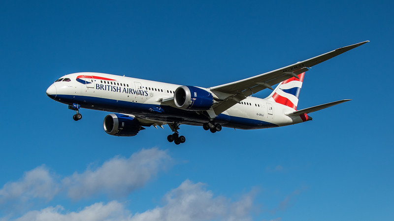 British Airways - Boeing 787-8 Dreamliner (G-ZBJJ) - Heathrow Airport (March 2020)