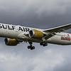 Gulf Air - Boeing 787-9 Dreamliner (A9C-FD) - Heathrow Airport (March 2019)