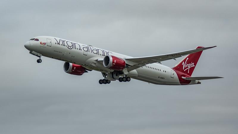 Virgin Atlantic - Boeing 787-9 Dreamliner (G-VSPY) - Heathrow Airport (March 2020)