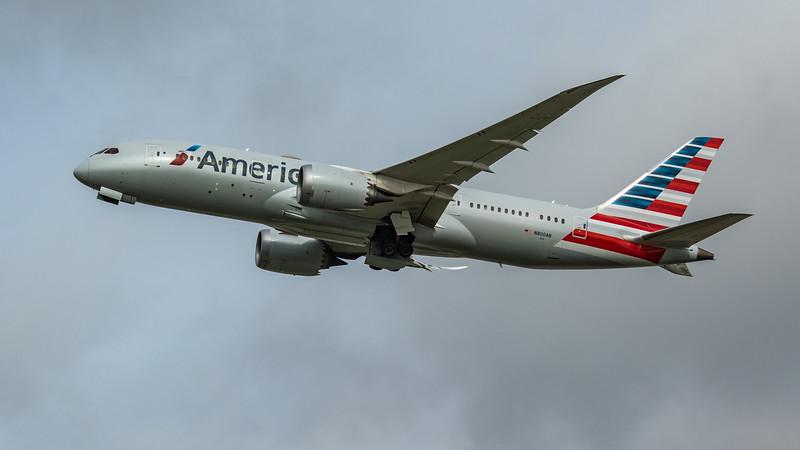 American Airlines - Boeing 787-8 Dreamliner (N800AN) - Heathrow Airport (March 2020)