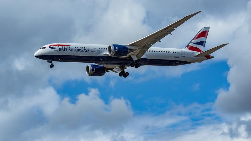 British Airways - Boeing 787-9 Dreamliner (G-ZBKS) - Heathrow Airport (June 2020)
