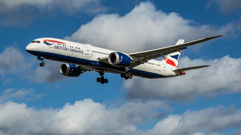 British Airways - Boeing 787-9 Dreamliner (G-ZBKH) - Heathrow Airport (March 2020)