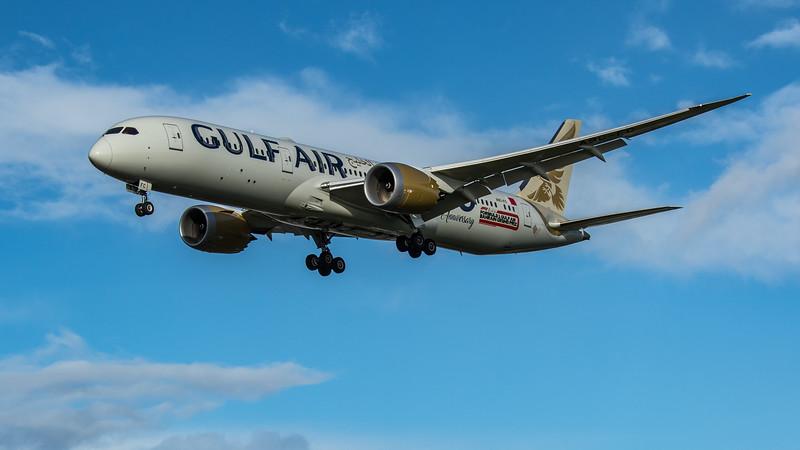 Gulf Air - Boeing 787-9 Dreamliner (A9C-FC) - Heathrow Airport (February 2020)