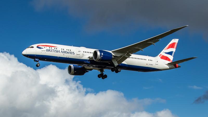 British Airways - Boeing 787-9 Dreamliner (G-ZBKP) - Heathrow Airport (February 2020)