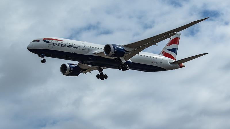 British Airways - Boeing 787-9 Dreamliner (G-ZBKJ) - Heathrow Airport (June 2020)