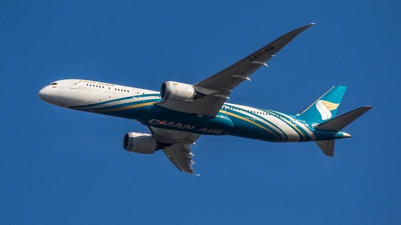 Oman Air - Boeing 787-9 Dreamliner (A4O-SG) - Heathrow Airport (March 2020)