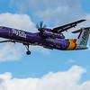 Flybe - De Havilland Canada Dash 8-400 (G-PRPI) - Heathrow Airport (March 2020)